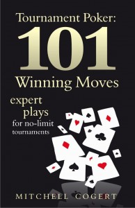 101 Tournament Hands Limit and No Limit book